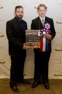 2016 Junior Champion Douglas Archer